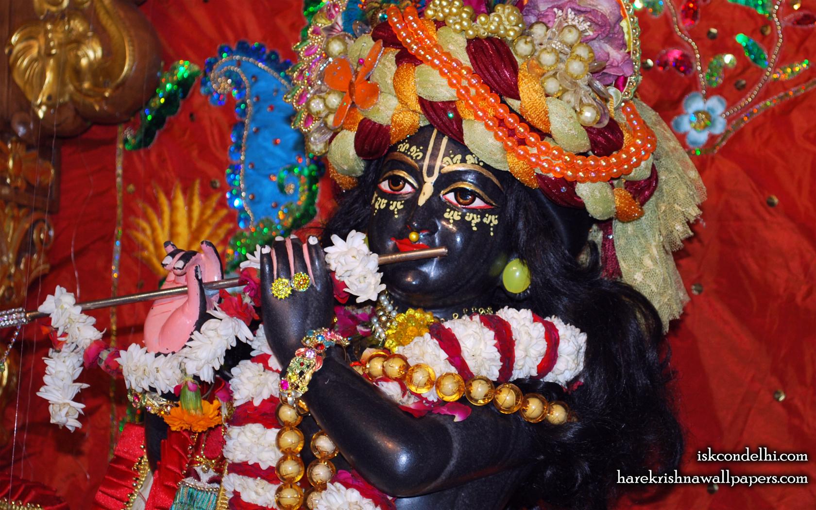 Sri Parthasarathi Close up Wallpaper (011) Size 1680x1050 Download