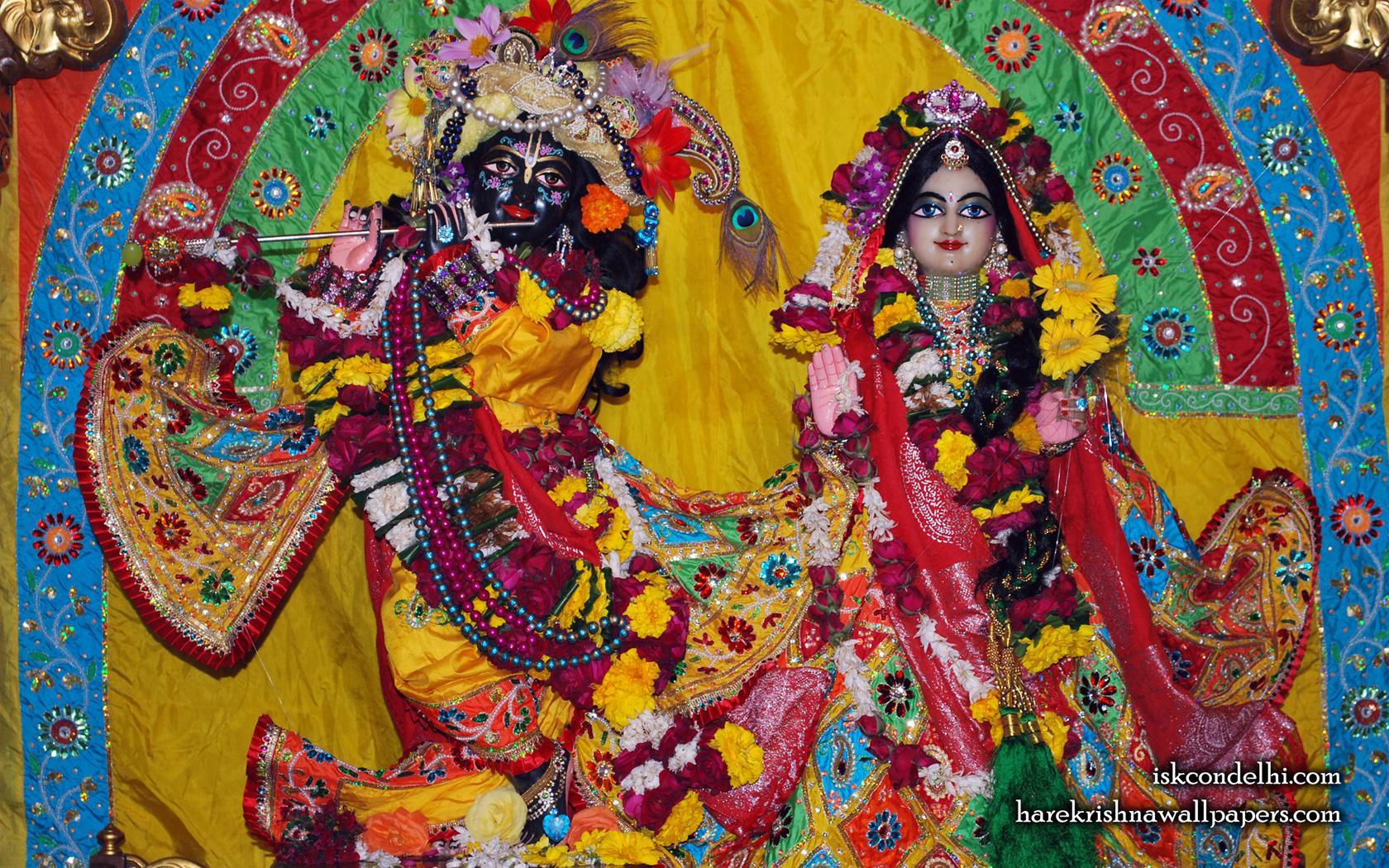 Sri Sri Radha Parthasarathi Wallpaper (011) Size 1680x1050 Download