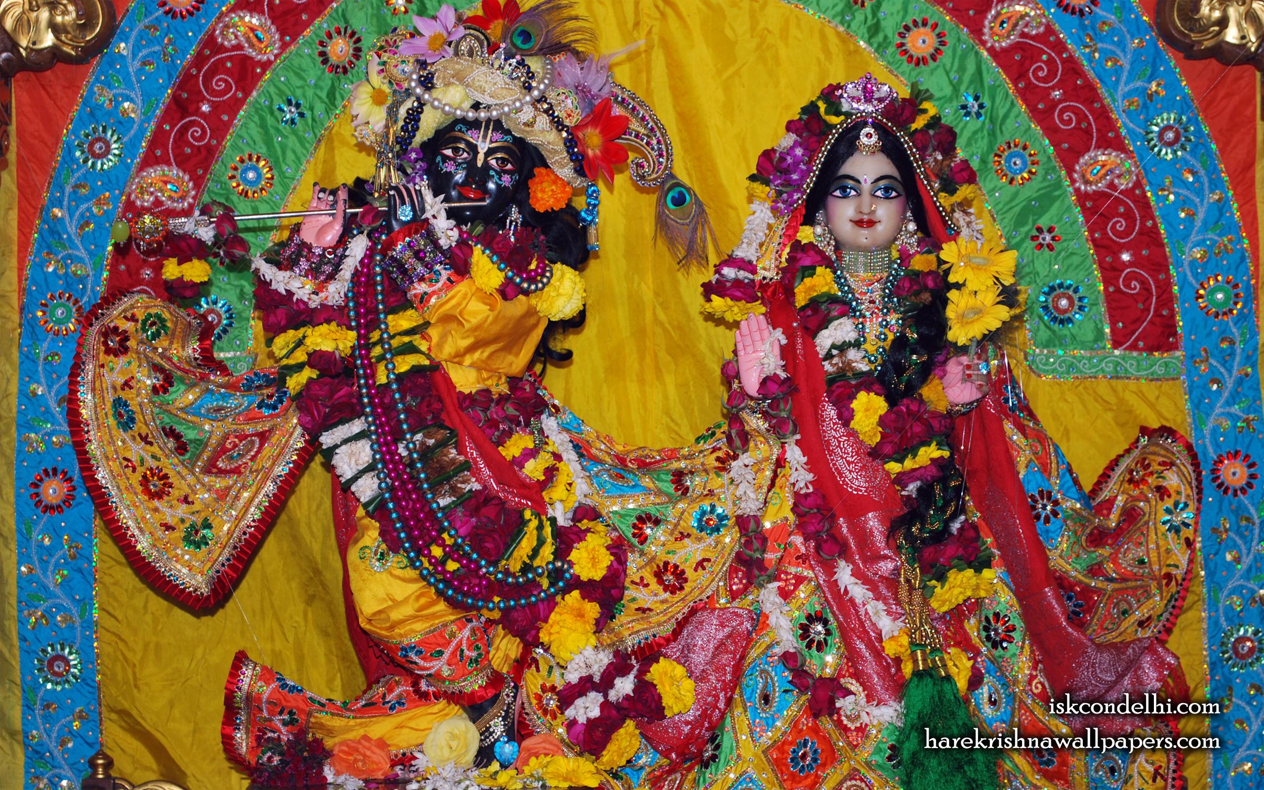 Sri Sri Radha Parthasarathi Wallpaper (011) Size 2560x1600 Download