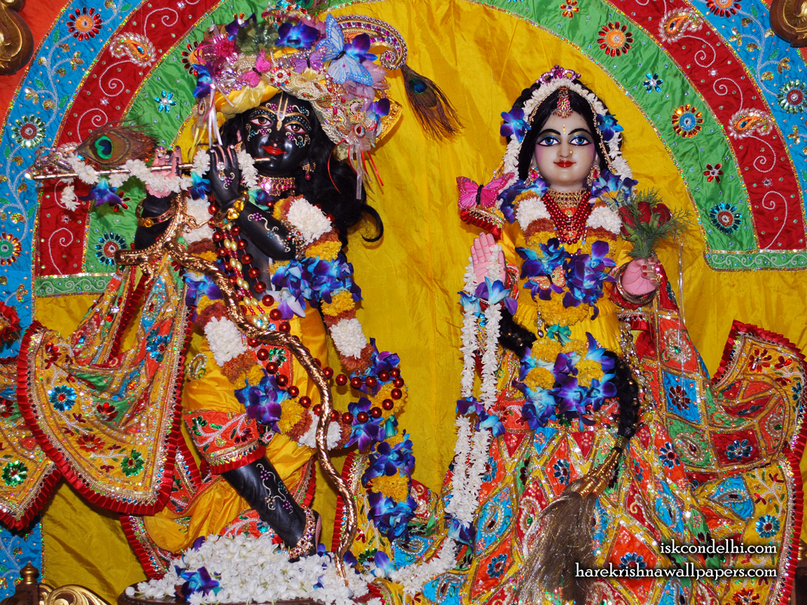 Sri Sri Radha Parthasarathi Wallpaper (012) Size 1152x864 Download