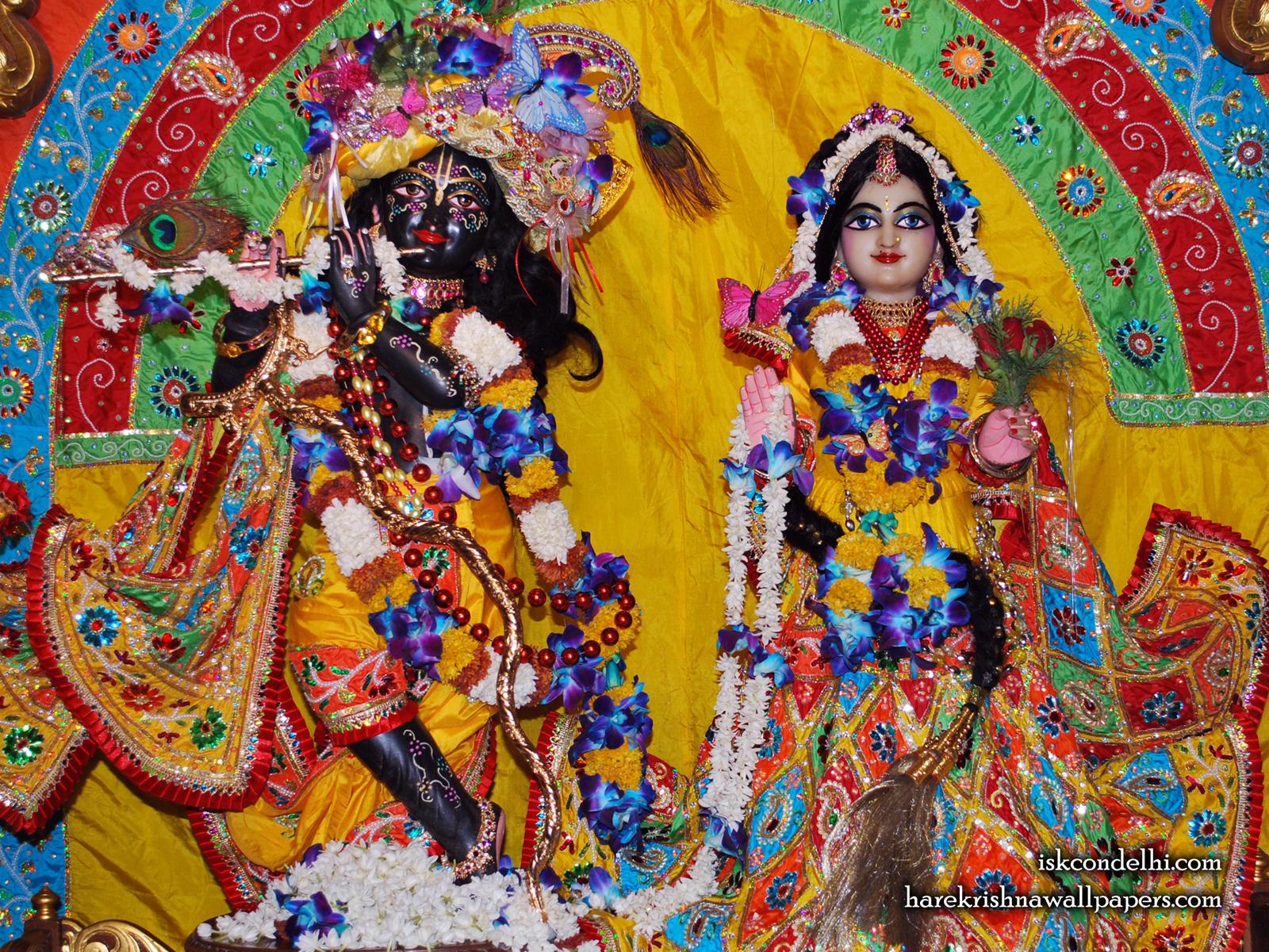 Sri Sri Radha Parthasarathi Wallpaper (012) Size1600x1200 Download