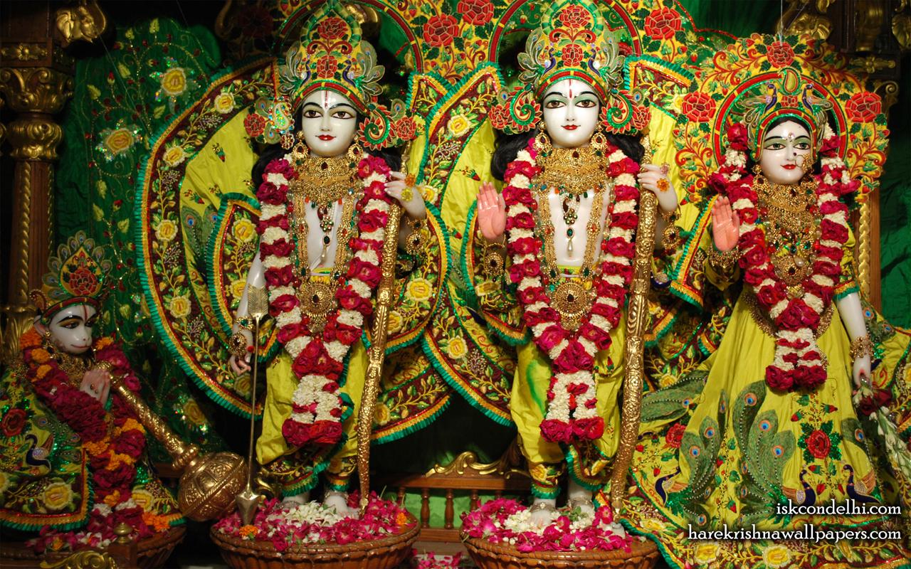 Sri Sri Sita Rama Laxman Hanuman Wallpaper (012) Size 1280x800 Download
