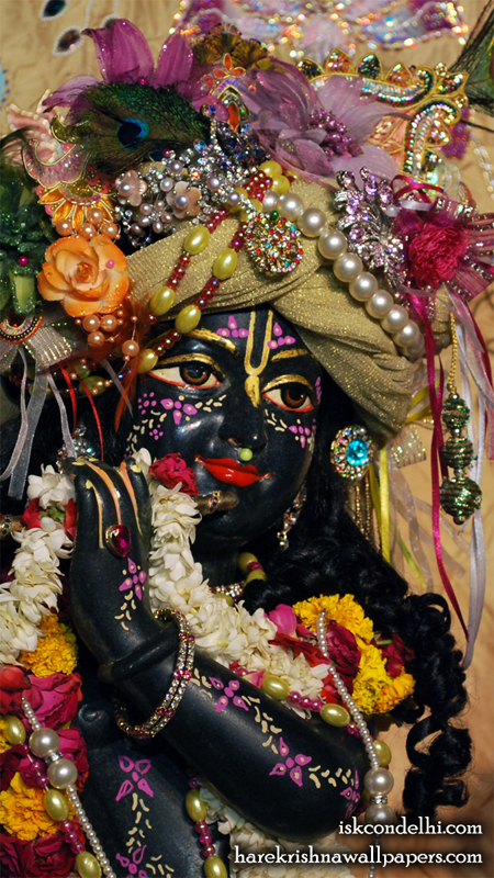 Sri Parthasarathi Close up Wallpaper (013) Size 450x800 Download