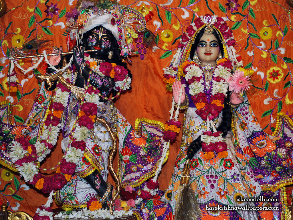 Sri Sri Radha Parthasarathi Wallpaper (013) Size 1024x768 Download