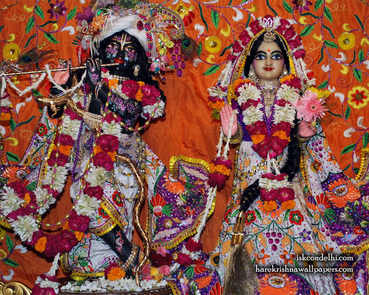 Sri Sri Radha Parthasarathi Wallpaper (013) Size 1280x1024 Download