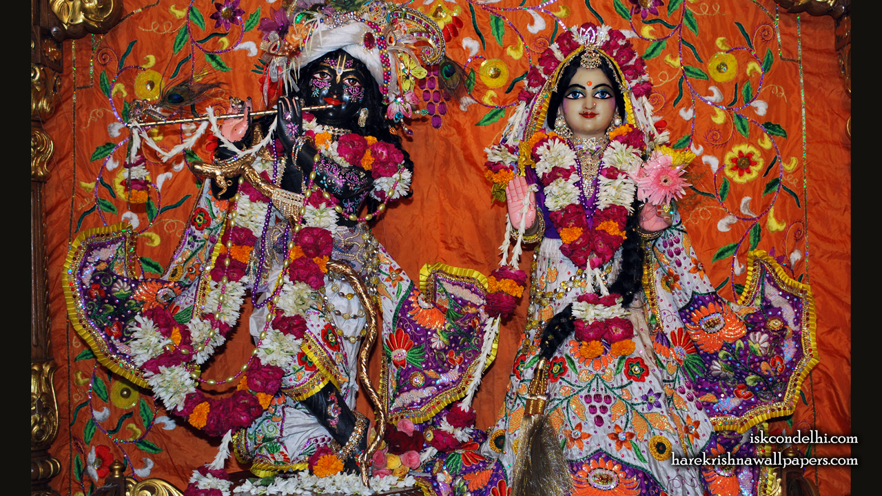 Sri Sri Radha Parthasarathi Wallpaper (013) Size1280x720 Download