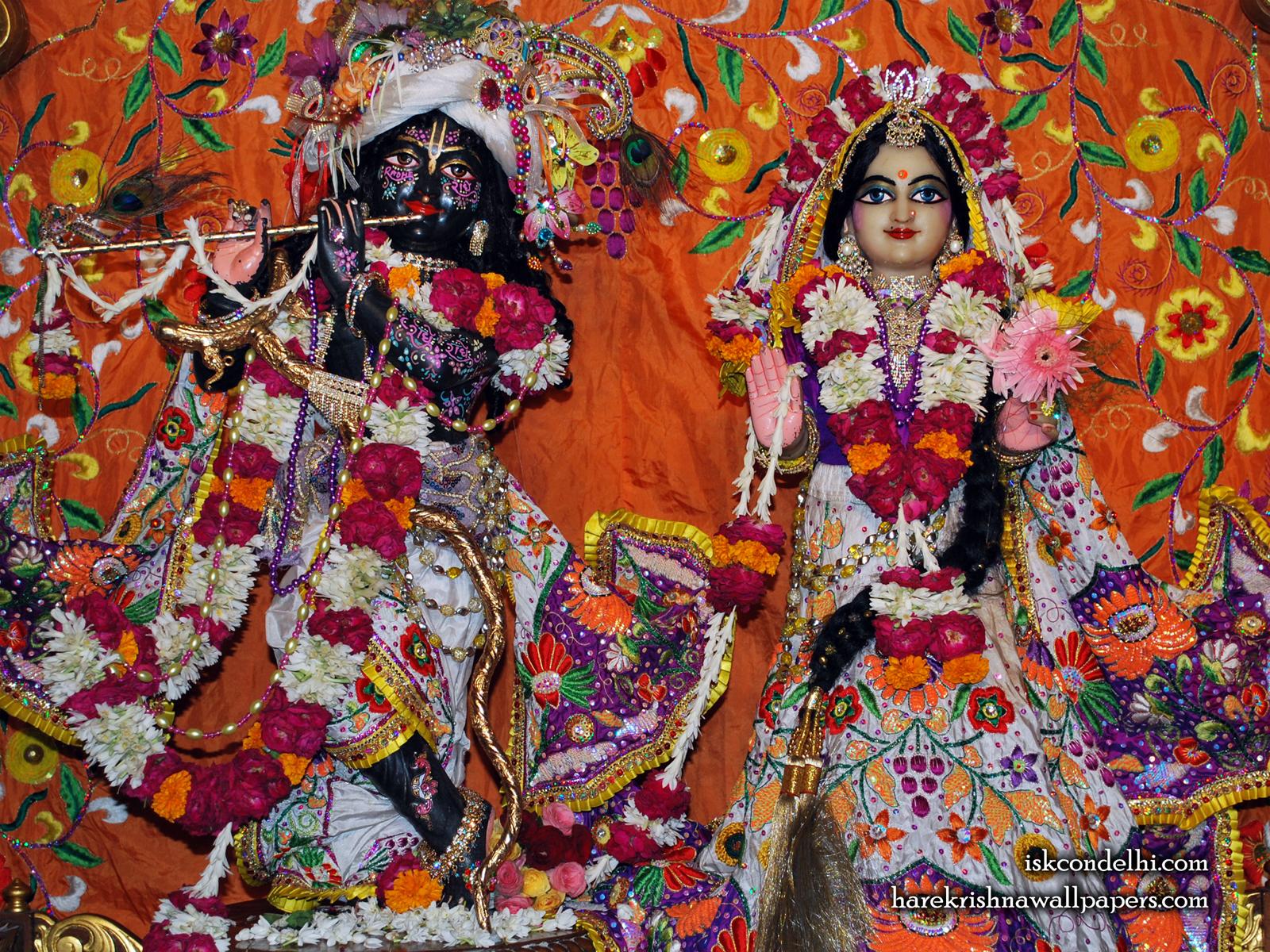 Sri Sri Radha Parthasarathi Wallpaper (013) Size1600x1200 Download