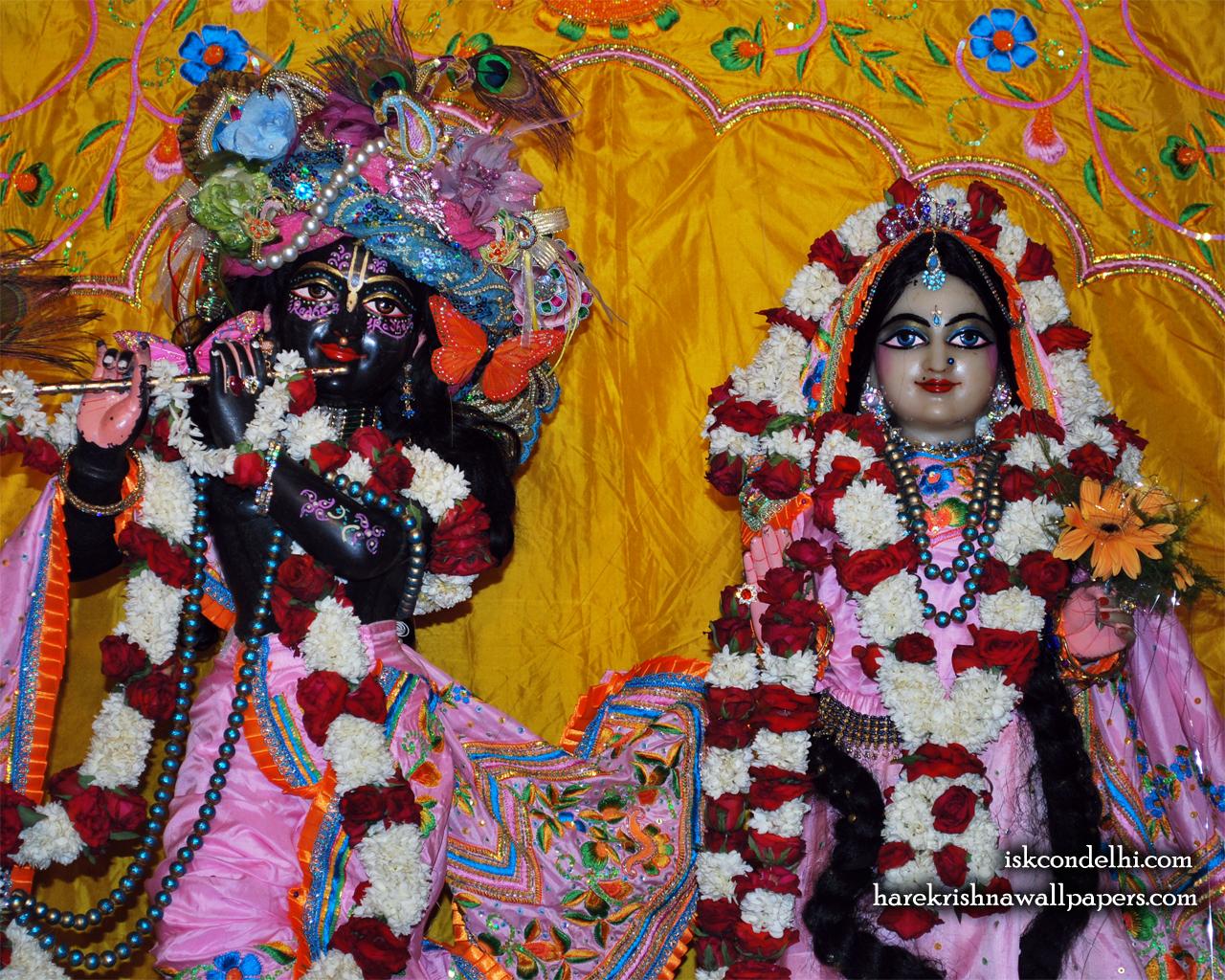 Sri Sri Radha Parthasarathi Close up Wallpaper (013) Size 1280x1024 Download