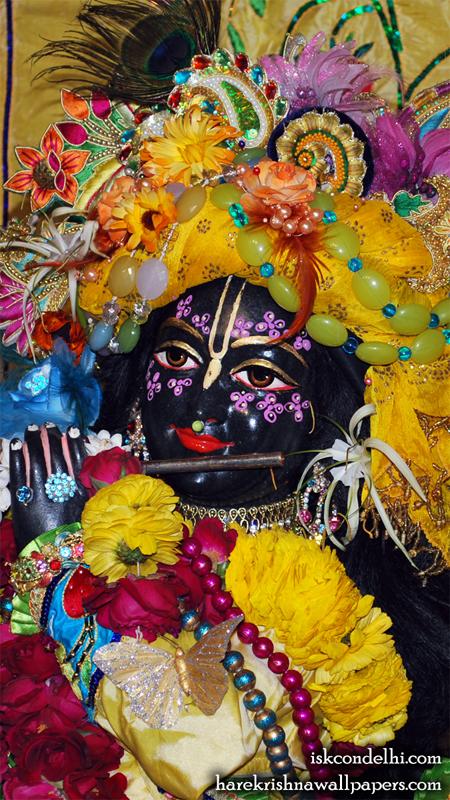 Sri Parthasarathi Close up Wallpaper (014) Size 450x800 Download