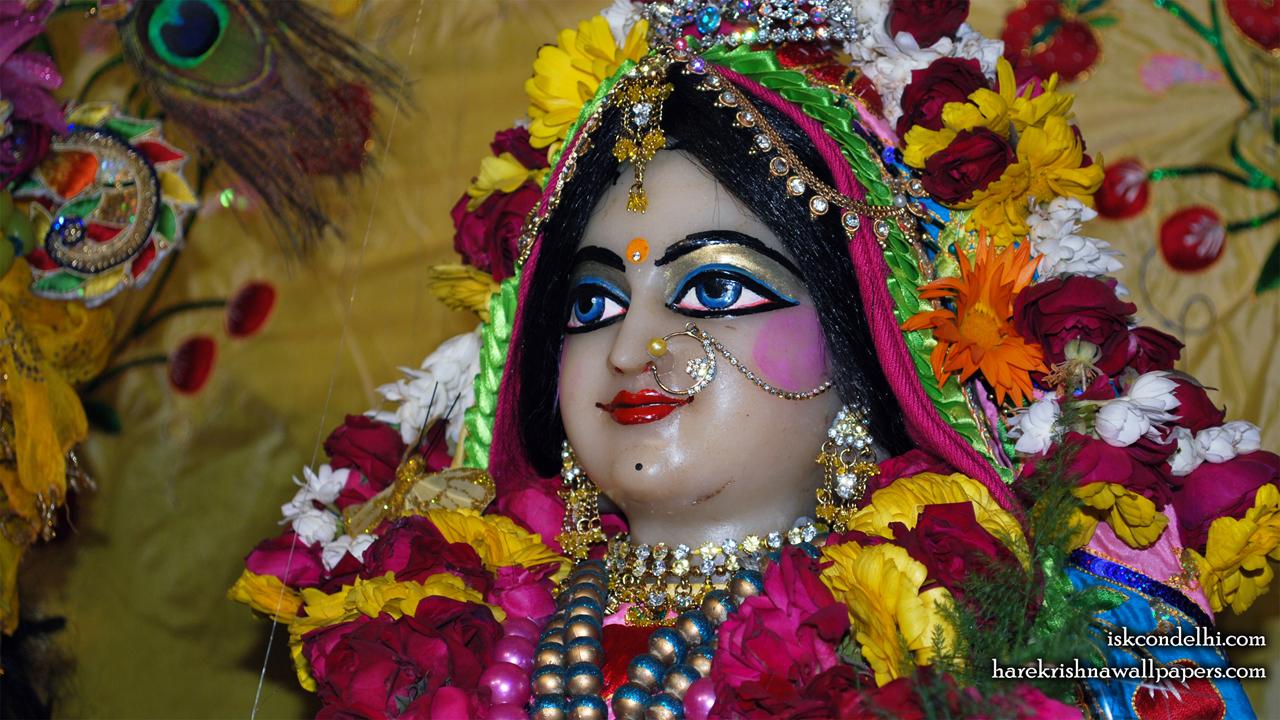 Sri Radha Close up Wallpaper (014) Size1280x720 Download
