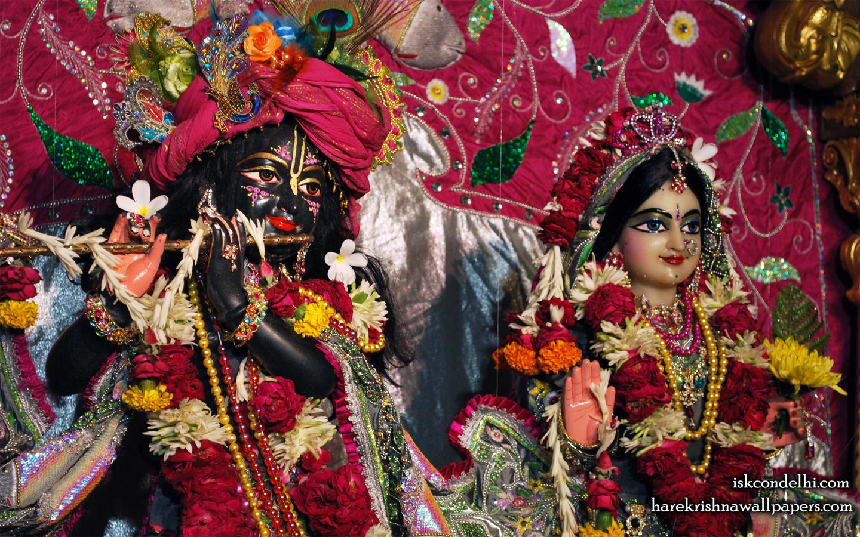 Sri Sri Radha Parthasarathi Close up Wallpaper (014) Size 1440x900 Download