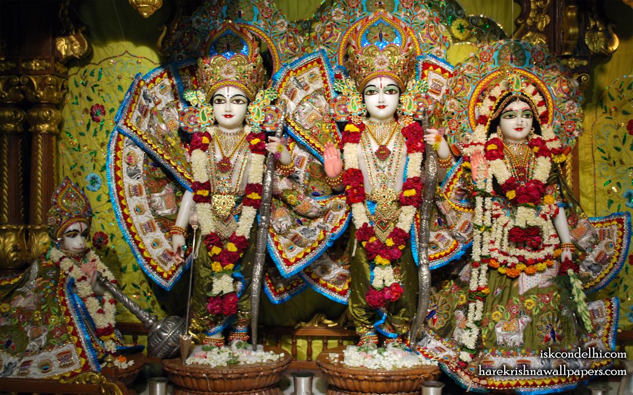Sri Sri Sita Rama Laxman Hanuman Wallpaper (014) Size 1280x800 Download