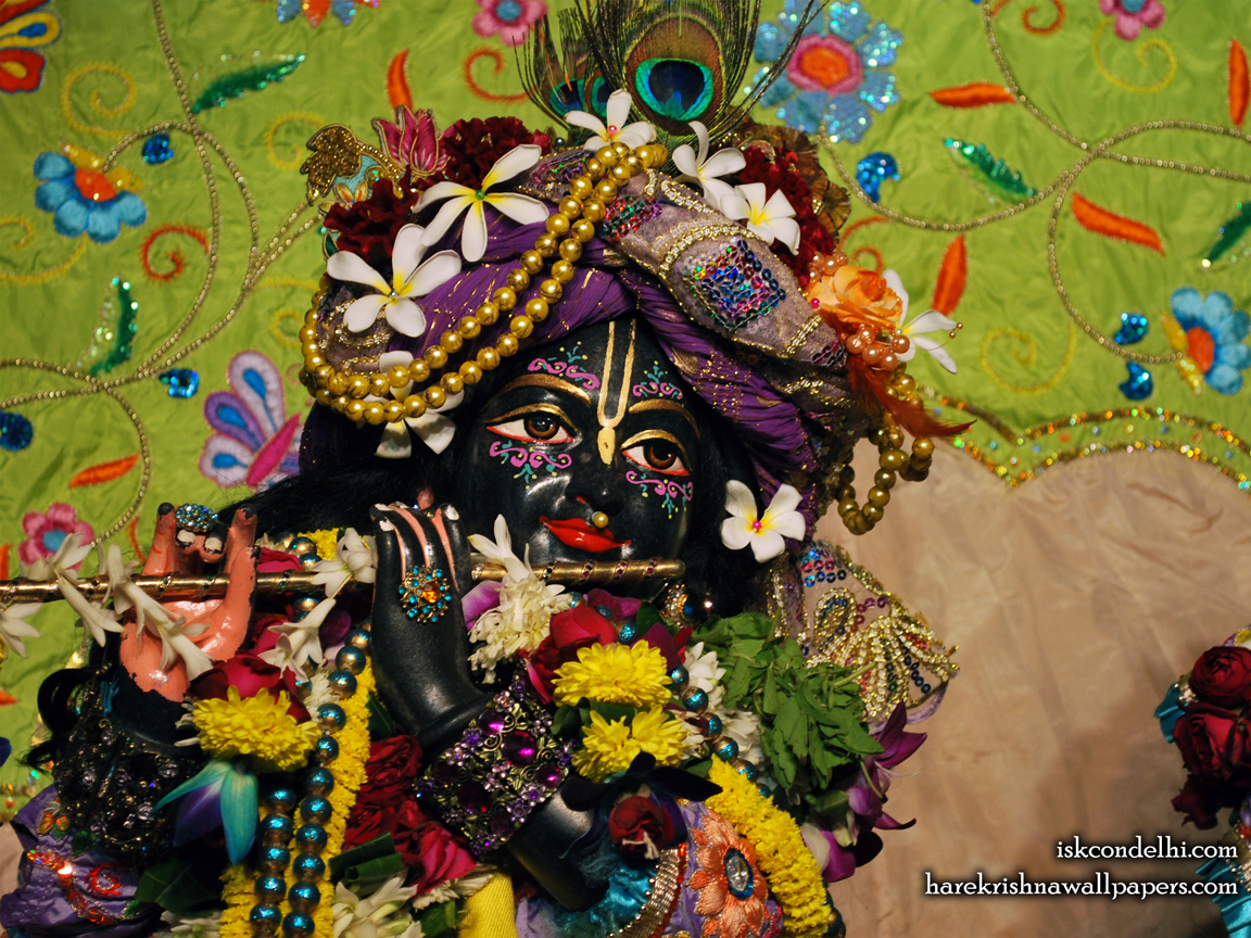 Sri Parthasarathi Close up Wallpaper (015) Size 1152x864 Download