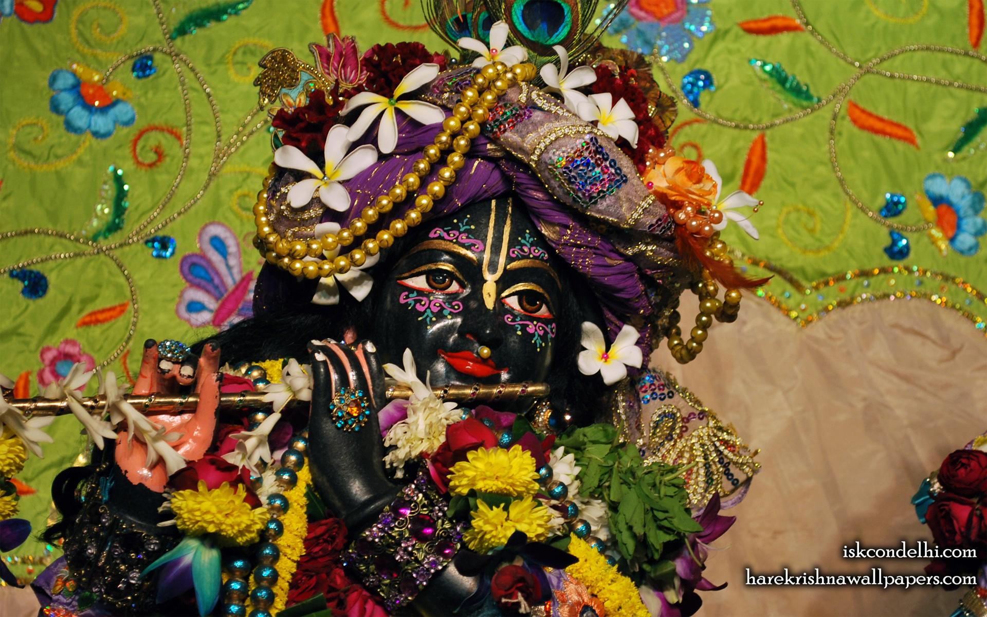 Sri Parthasarathi Close up Wallpaper (015) Size 1920x1200 Download
