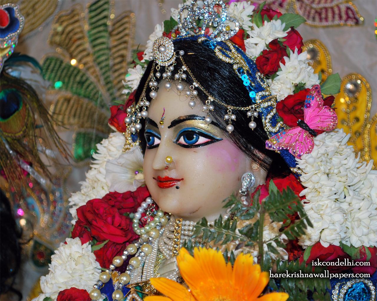 Sri Radha Close up Wallpaper (015) Size 1280x1024 Download