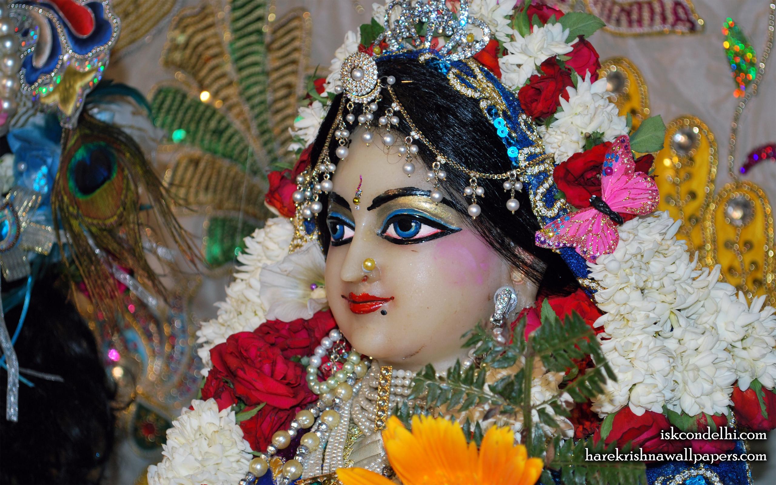 Sri Radha Close up Wallpaper (015) Size 2560x1600 Download