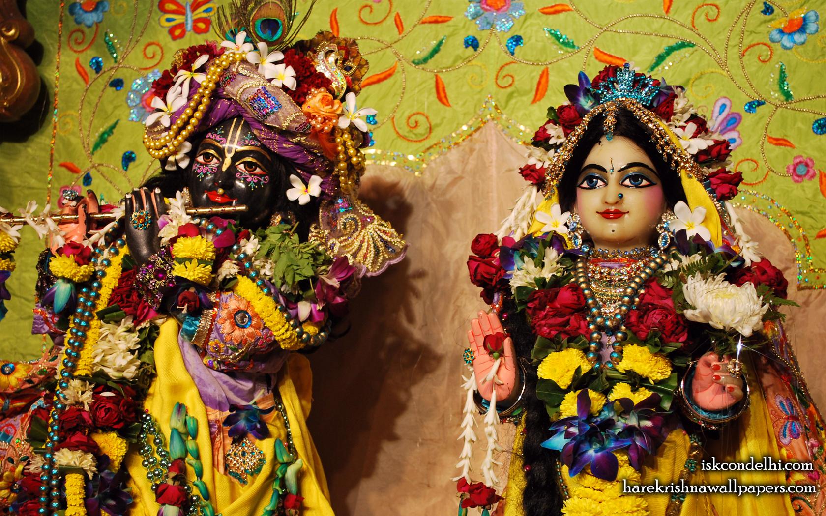 Sri Sri Radha Parthasarathi Close up Wallpaper (015) Size 1680x1050 Download