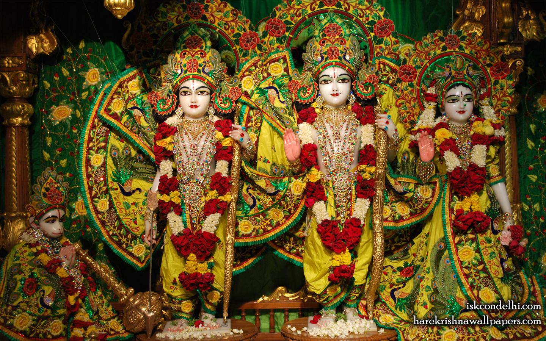 Sri Sri Sita Rama Laxman Hanuman Wallpaper (015) Size 1440x900 Download