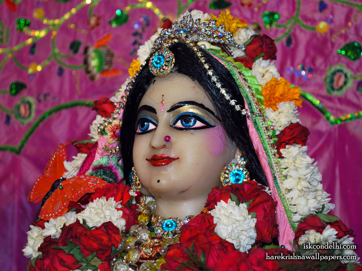 Sri Radha Close up Wallpaper (016) Size 1152x864 Download
