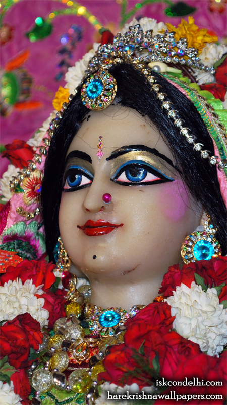 Sri Radha Close up Wallpaper (016) Size 450x800 Download