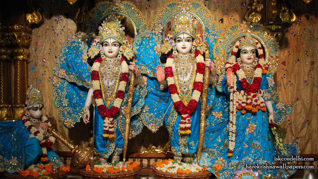 Sri Sri Sita Rama Laxman Hanuman Wallpaper (016) Size1280x720 Download