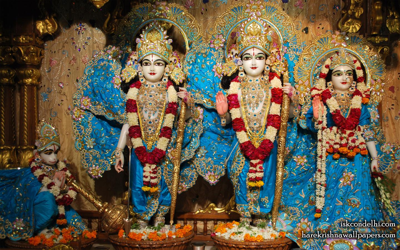 Sri Sri Sita Rama Laxman Hanuman Wallpaper (016) Size 1440x900 Download
