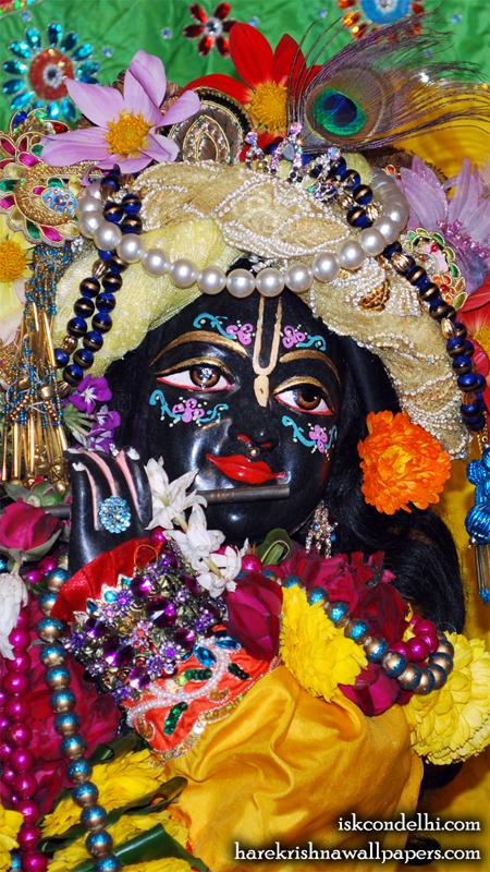 Sri Parthasarathi Close up Wallpaper (017) Size 450x800 Download