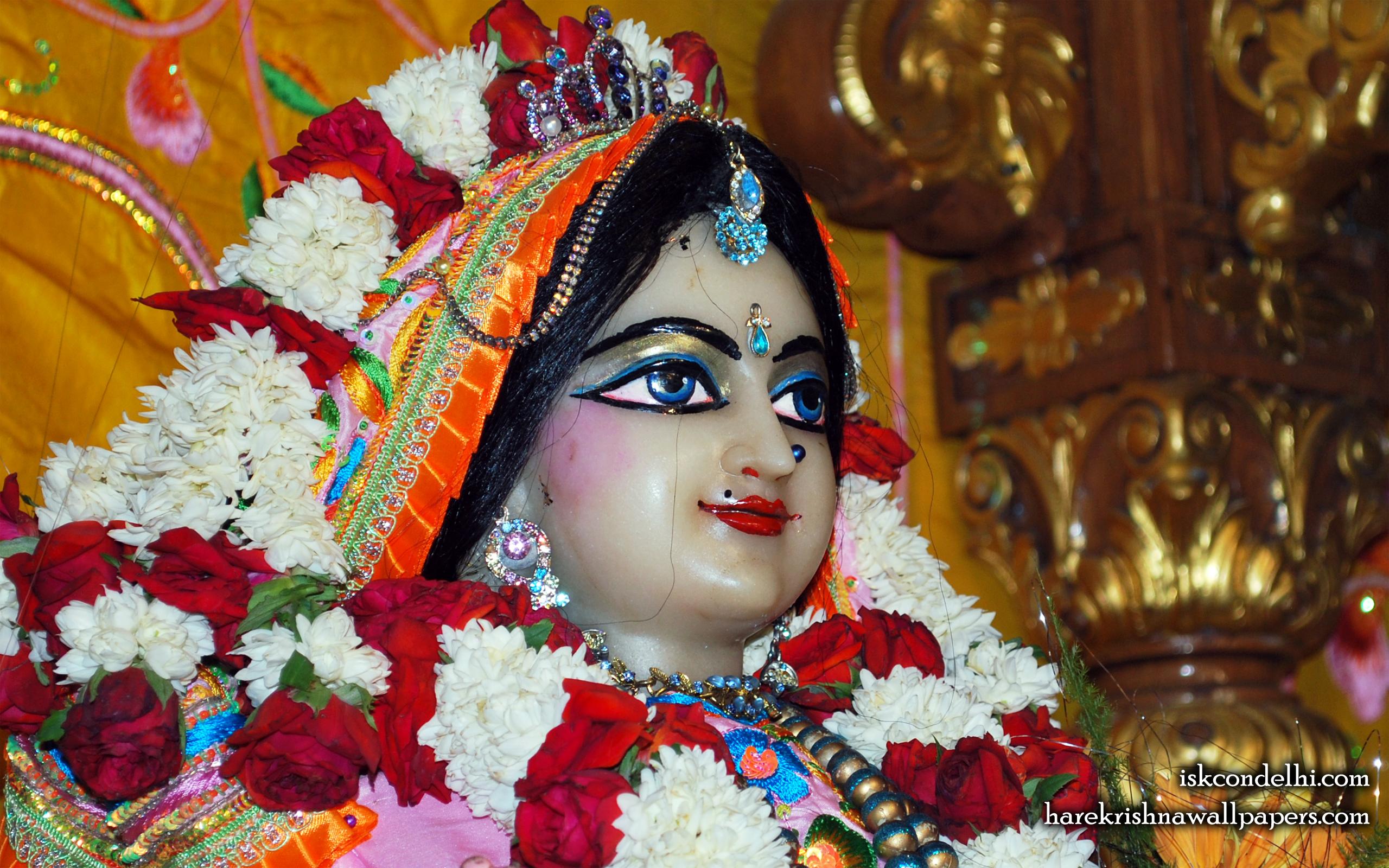 Sri Radha Close up Wallpaper (017) Size 2560x1600 Download