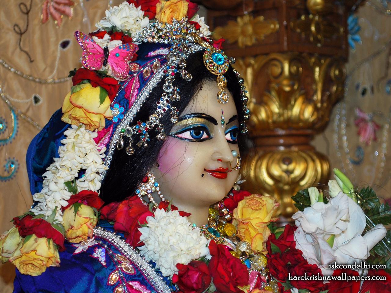 Sri Radha Close up Wallpaper (018) Size 1280x960 Download