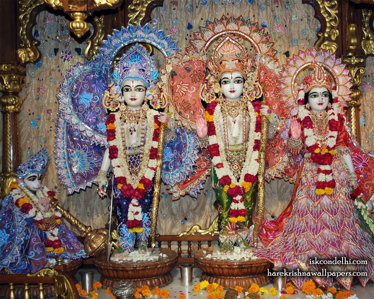 Sri Sri Sita Rama Laxman Hanuman Wallpaper (018) Size 1280x1024 Download