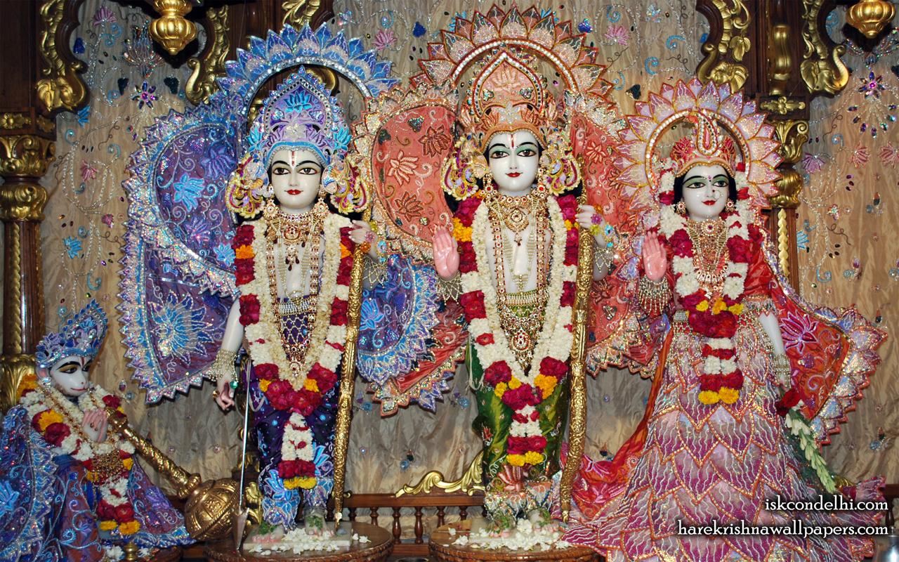 Sri Sri Sita Rama Laxman Hanuman Wallpaper (018) Size 1280x800 Download