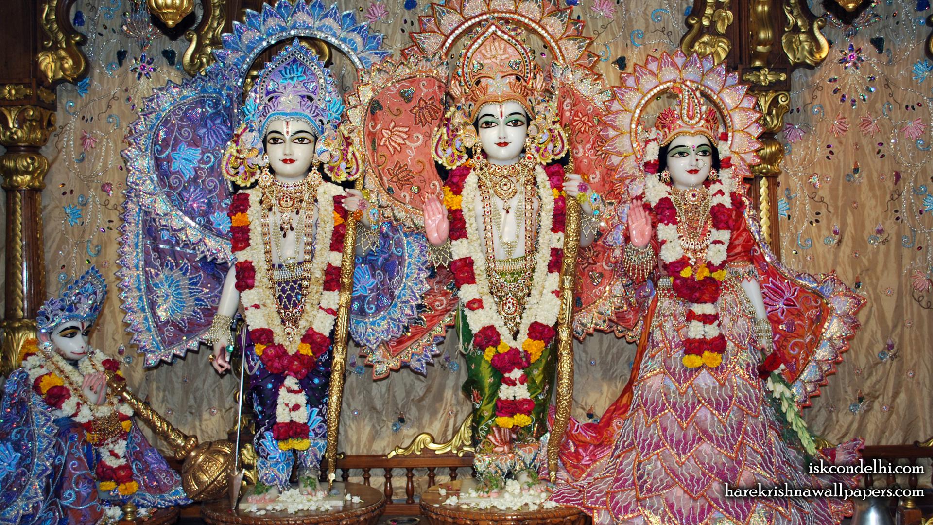 Sri Sri Sita Rama Laxman Hanuman Wallpaper (018) Size 1920x1080 Download