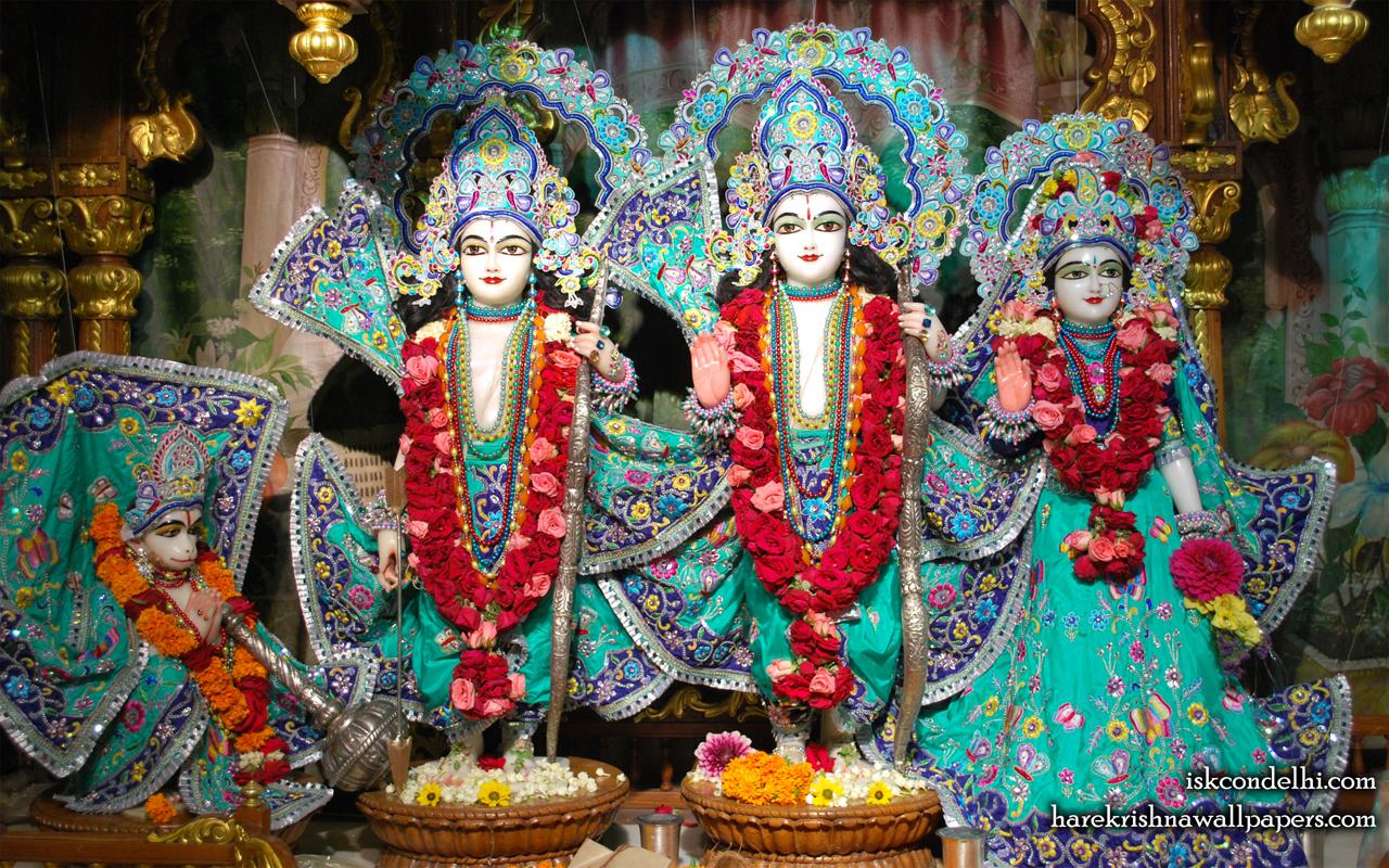 Sri Sri Sita Rama Laxman Hanuman Wallpaper (019) Size 1280x800 Download
