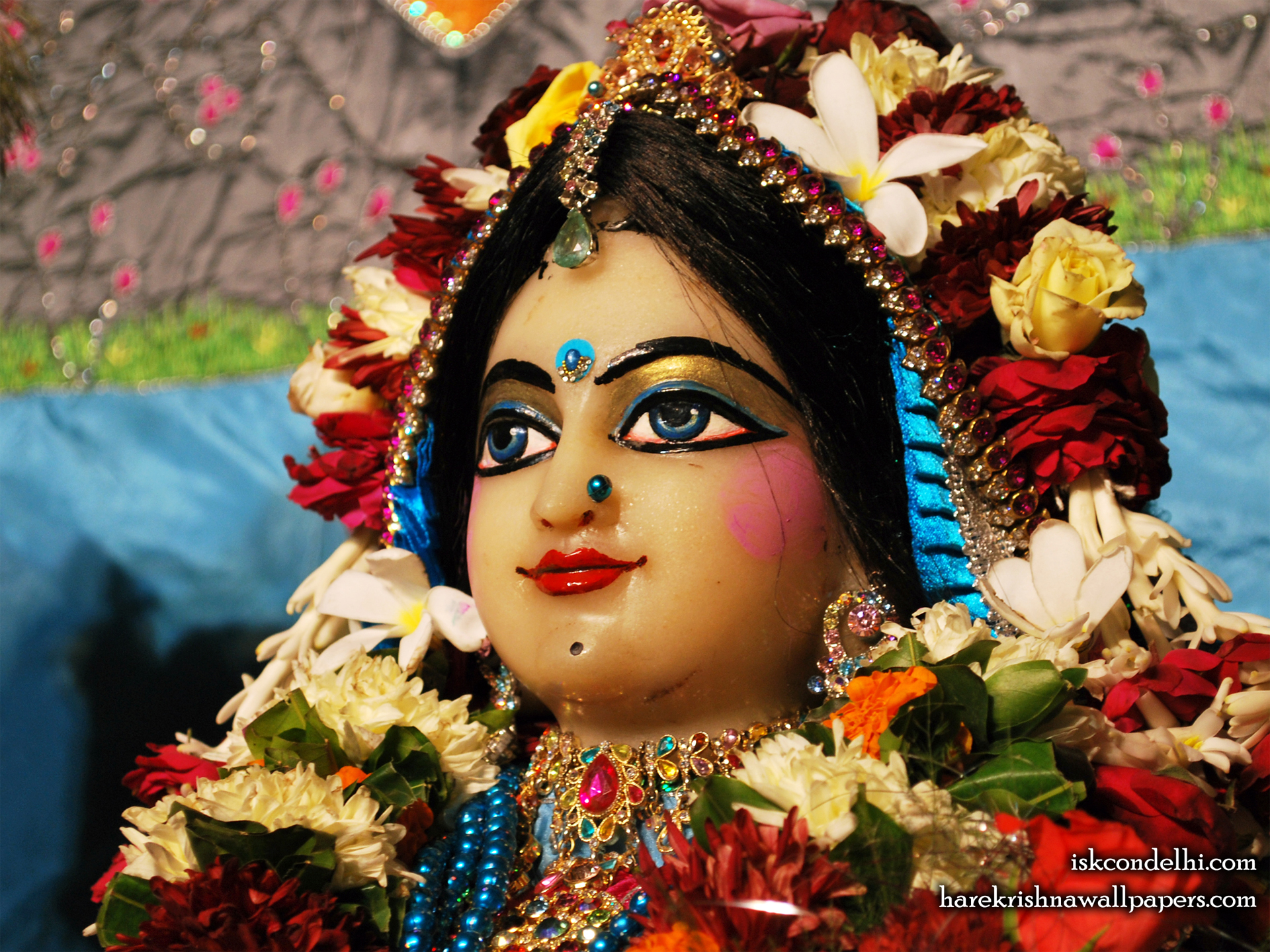 Sri Radha Close up Wallpaper (020) Size 1920x1440 Download