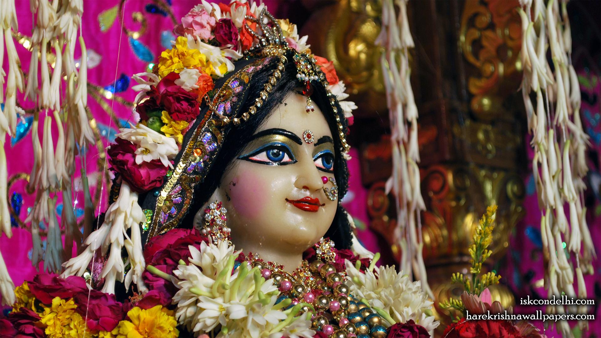 Sri Radha Close up Wallpaper (022) Size 1920x1080 Download