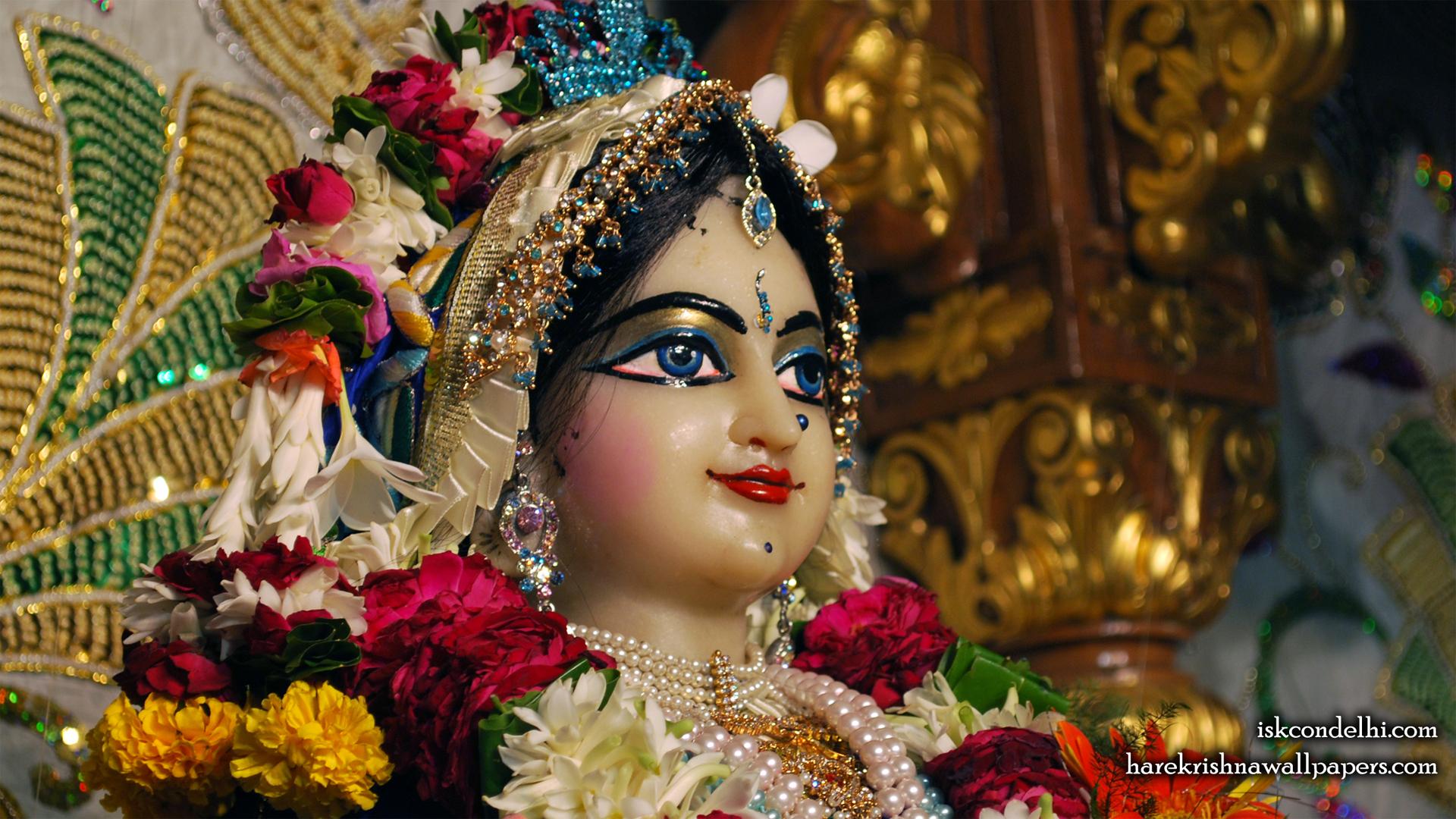 Sri Radha Close up Wallpaper (024) Size 1920x1080 Download