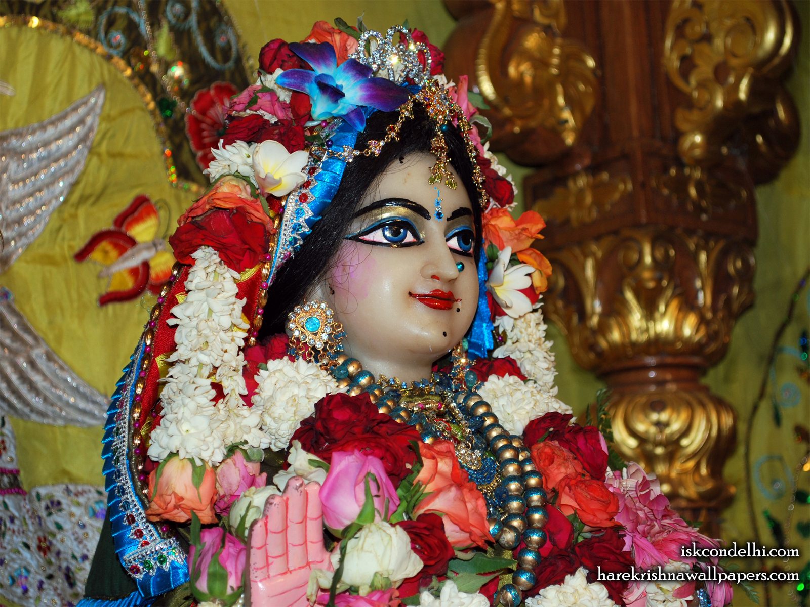 Sri Radha Close up Wallpaper (026) Size1600x1200 Download