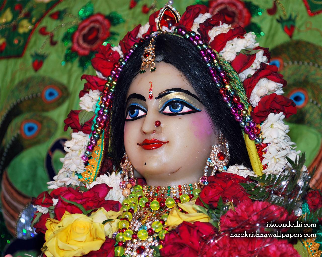 Sri Radha Close up Wallpaper (027) Size 1280x1024 Download