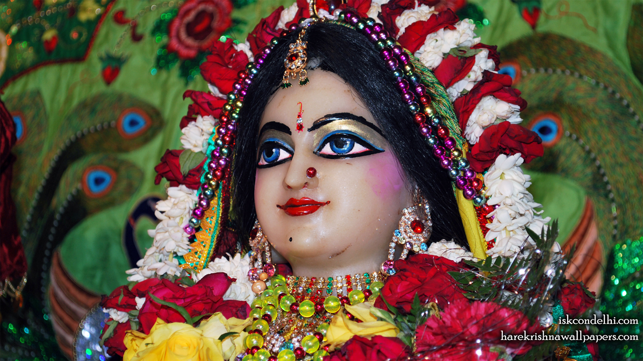 Sri Radha Close up Wallpaper (027) Size1280x720 Download