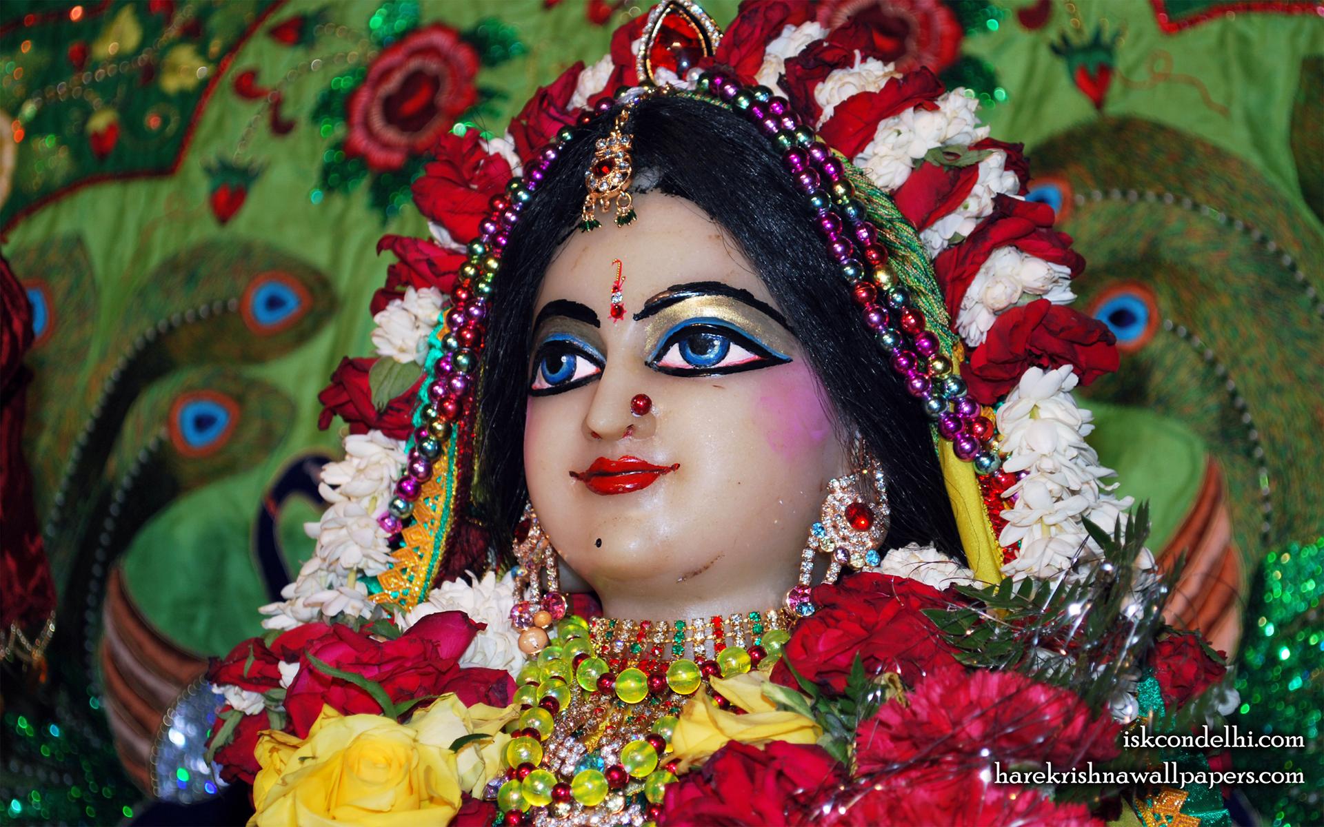 Sri Radha Close up Wallpaper (027) Size 1920x1200 Download