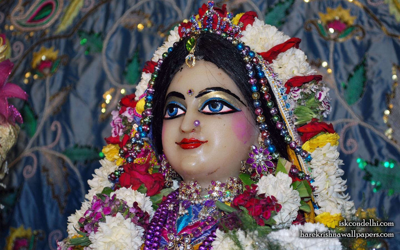 Sri Radha Close up Wallpaper (031) Size 1440x900 Download