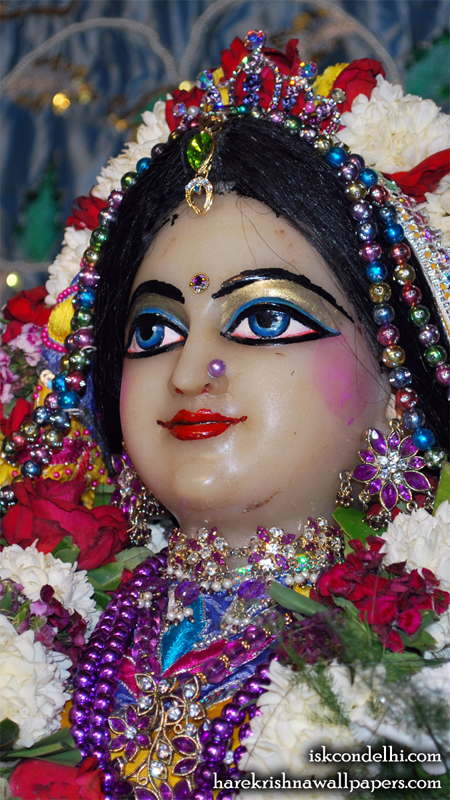 Sri Radha Close up Wallpaper (031) Size 450x800 Download