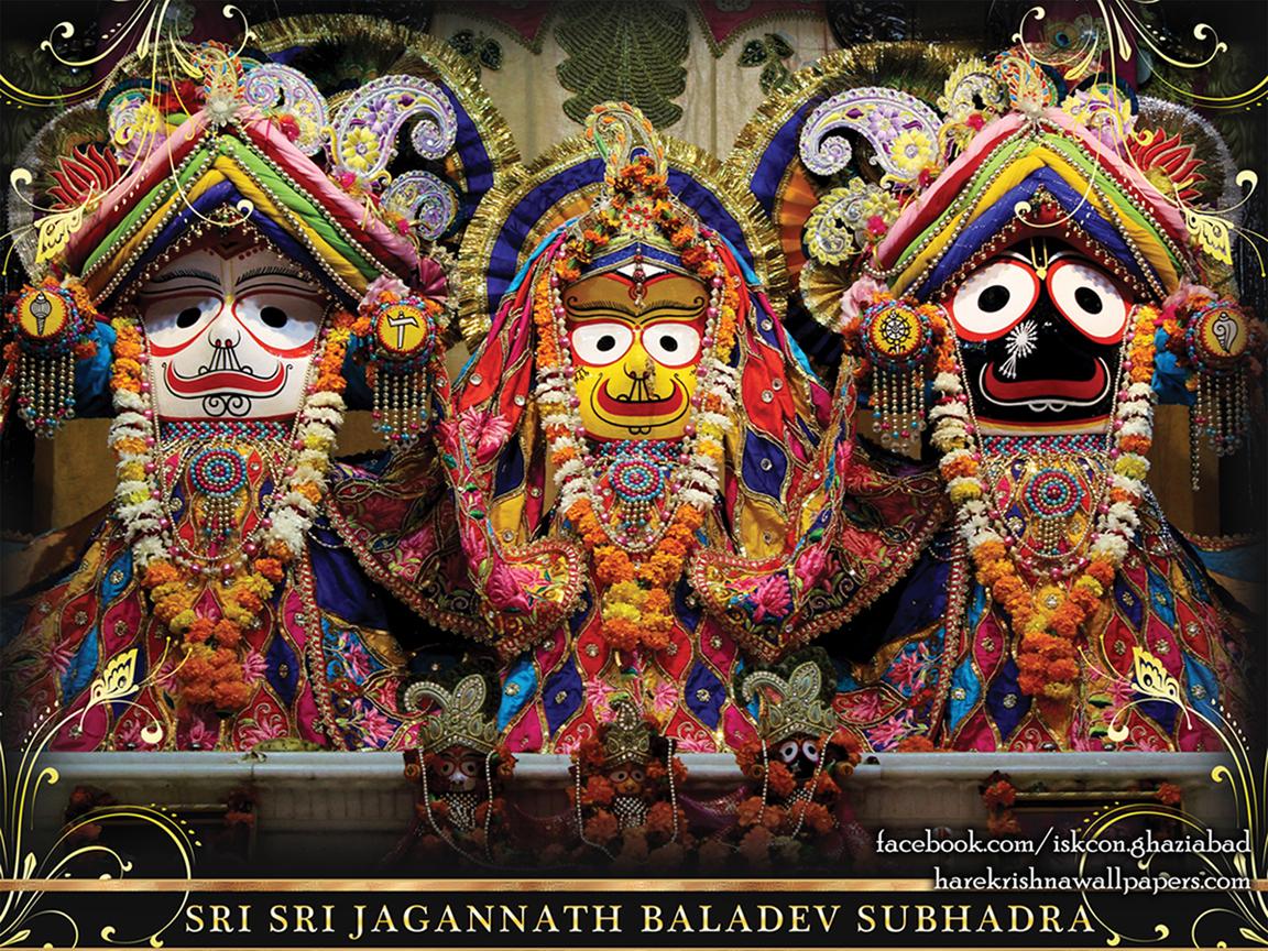 Jagannath Baladeva Subhadra Wallpaper (001) Size 1152x864 Download