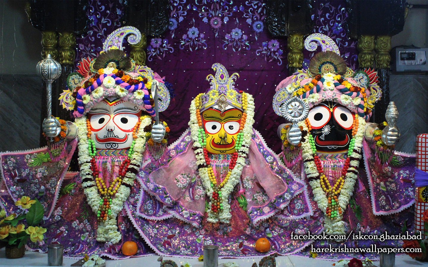 Jagannath Baladeva Subhadra Wallpaper (003) Size 1440x900 Download