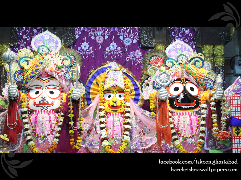 Jagannath Baladeva Subhadra Wallpaper (004) Size 1024x768 Download