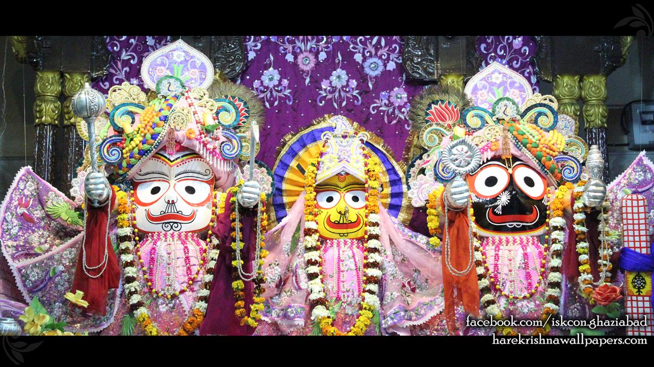 Jagannath Baladeva Subhadra Wallpaper (004) Size 1280x720 Download