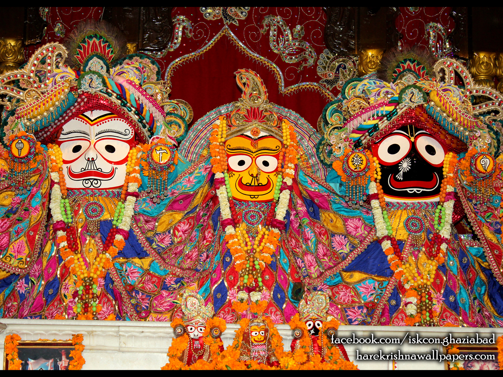 Jagannath Baladeva Subhadra Wallpaper (005) Size1600x1200 Download
