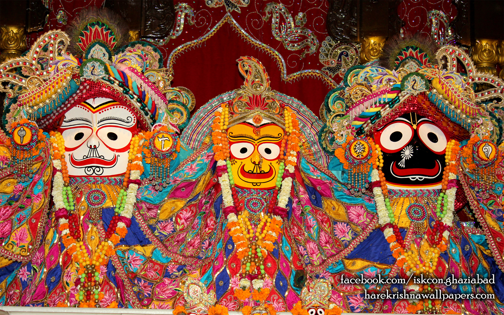 Jagannath Baladeva Subhadra Wallpaper (005) Size 1680x1050 Download
