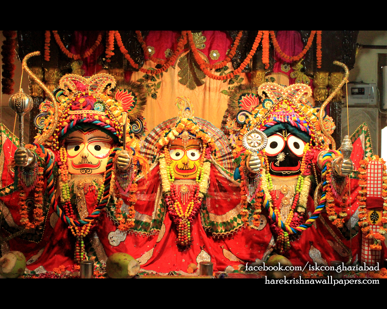 Jagannath Baladeva Subhadra Wallpaper (006) Size 1280x1024 Download