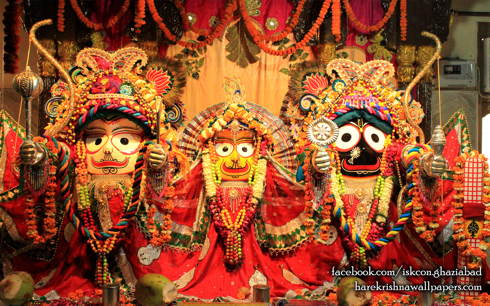 Jagannath Baladeva Subhadra Wallpaper (006) Size 1680x1050 Download